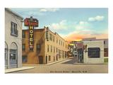 Don Gaspar Street  Santa Fe  New Mexico