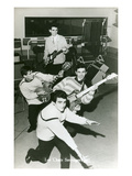 Fifties French Rock'N' Roll Band