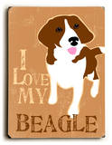 I love my Beagle