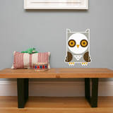 Letter O - Ollie the Owl Wall Decal