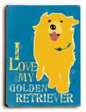 I love my Golden Retriever