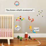 Awesome Collection 2 Wall Decal