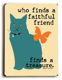 Who finds a faithful friend