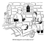 """""""All the body parts were locally sourced"""" - New Yorker Cartoon"""