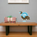 Letter Q - Quinnlyn the Quail Wall Decal