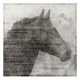 Equestrian Story 1 Reproduction d'art par Ken Roko