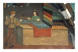 Tailor's Shop  Fresco  Issogne  1490