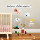 Awesome Collection 1 Wall Decal