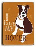 I love my Boxer