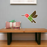 Letter H - Hai the Hummingbird Wall Decal