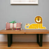 Letter L - Leo the Lion Wall Decal