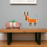 Letter I - Ingrid the Impala Wall Decal