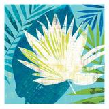 Tropical Leaf Silhouette 1