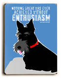 Without Enthusiasm
