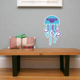 Letter J - Jose the Jellyfish Wall Decal