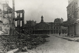 Arras  Station with War Damage During World War I