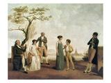 Portrait d'un Famille Vers 1800 (Family portrait c1800)