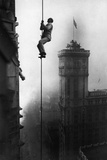 Acrobat Climbs Skyscraper  1918