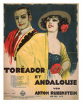 Cover of the Sheet Music for Toreador et Andalouse by Anton Rubinstein  Op103 No7