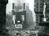 View of Times Square  New York  USA  1952