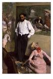 L'Homme et le Pantin (The Artist in the Studio)  c1873
