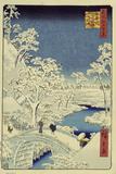 Drum Bridge Near Meguro  1856-58