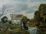 Mill by the River Stour  c1820