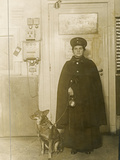 Wartime Economy  Woman Night Guard  During World War I