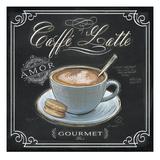 Coffee House Caffe Latte Reproduction d'art par Chad Barrett