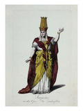 Figurine of Sarastro  Character from The Magic Flute  Opera by Wolfgang Amadeus Mozart