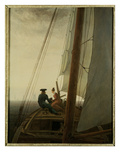 Auf dem Segler (On the Sailing Ship)  c1818-19