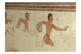 Discus Thrower  Etruscan Wall Painting  c520 BC