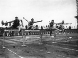 Trossbach Wins the Hurdles 1927