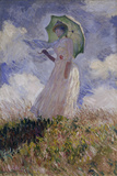 Femme à l'Ombrelle Tournée Vers la Gauche (Woman with Umbrella)  1886