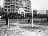 International Athletics Championship in Berlin on September 18  1910: High Jump