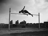 High Jump Championship in Colombes  1952