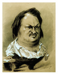 Balzac  Caricature by Nadar  C19th