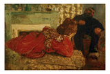 Le Peignoir Rouge (The Red Dressing Gown)  1898