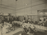 Public Reading Rooms at the Public Library  Los Angeles  CA  C1905