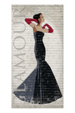 Black Dress Glamour