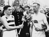 Olympic Flame Relay at the 1948 London Olympcs
