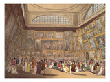 Exhibition Room  Somerset House  1808