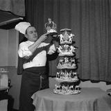 Confectioner Deblieux  Parist  1957