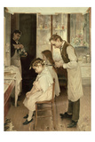 Children at the Hairdresser's