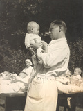 Paediatrician with Baby  C1925