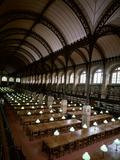 Bibliotheque Sainte-Geneviève  Reading Room  Paris  France