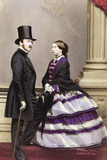 Victoria and Albert  1861