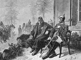 Napoleon III and Bismarck on the Morning after the Battle of Sedan  1870