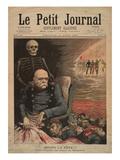Après La Fête!!!  L'Anniversaire Du Prince De Bismarck  Bismarck's 84th Birthday  Le Petit Journal