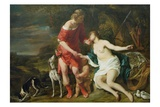 Venus and Adonis  c1658